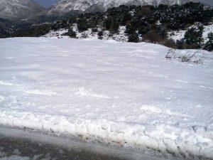 Αΐμονας Μυλοποτάμου Χιόνια κοιλάδα