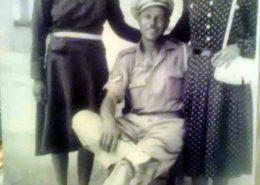 1947 - Καλλιόπη Νούσιου, Βασίλειος και Ειρήνη Φλουρή